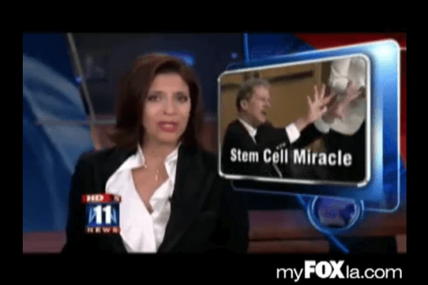 Stem cell miracle by FOX TV on Mar 26 2009