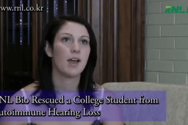 Rescues a College Student from Autoimmune Hearing Loss